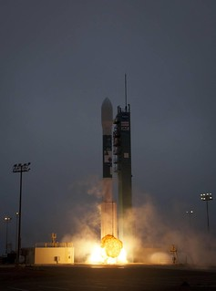 Aquarius Mission Liftoff