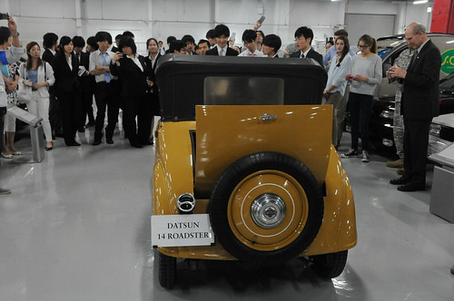 The Power Comes from the Inside:U.S Army Japan connects with Nissan community
