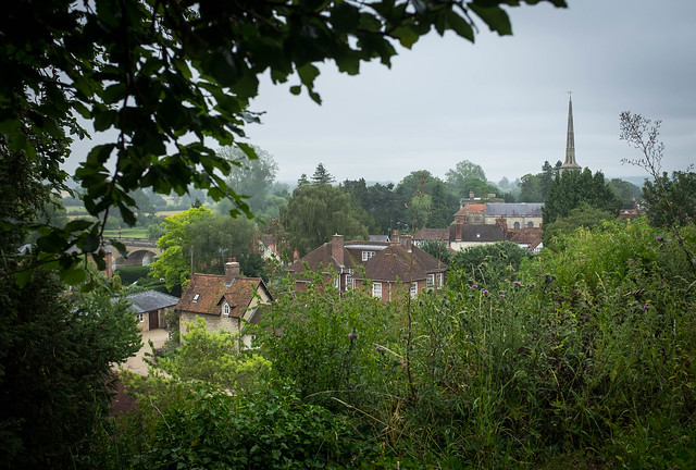Wallingford from Castle mound