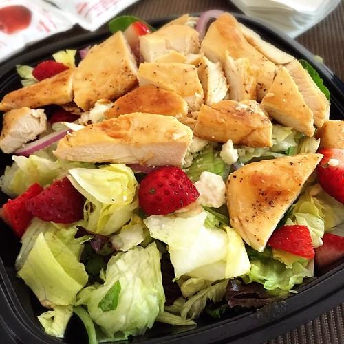 Wendy's chicken salad