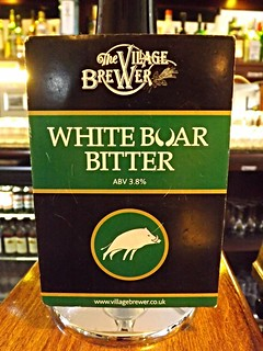 The Village Brewer, White Boar Bitter, England