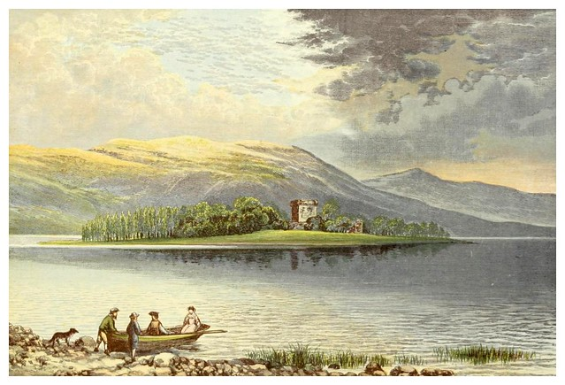 005-Lago Leven-Scottish loch scenery-1882-A.F. Lydon