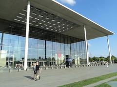building, canopy, pavilion, public space, campus,