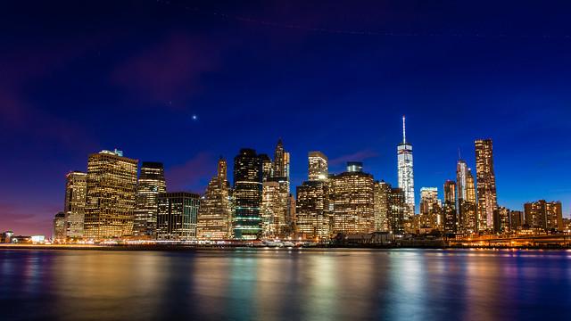 Night Manhattan