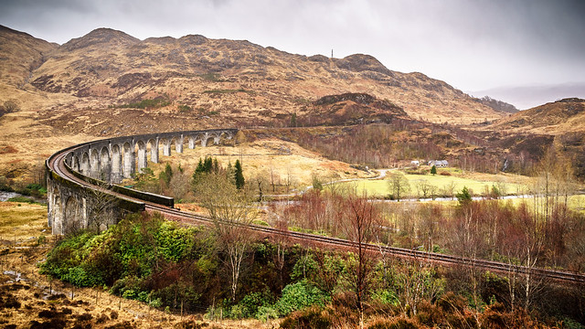Glenfinnan viaduct - Scotland - Travel photography