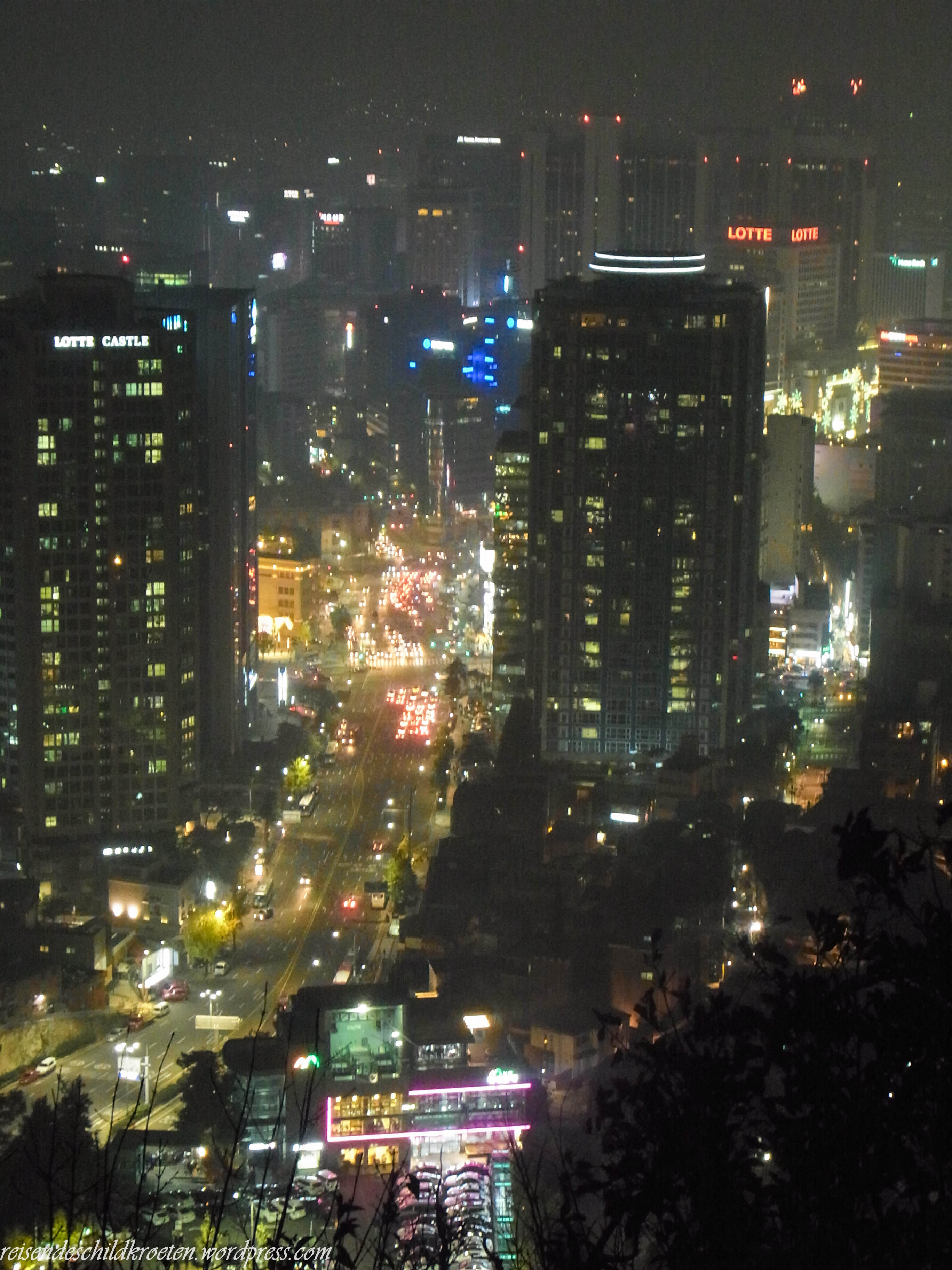 Seoul from N Seoul Tower