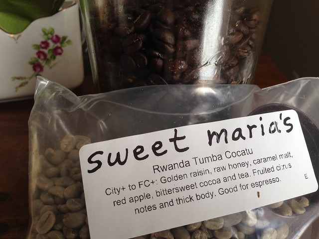 Last batch from Sweet Maria's