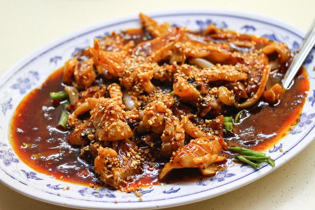 Keng Eng Kee Seafood's Cuttlefish Kang Kong