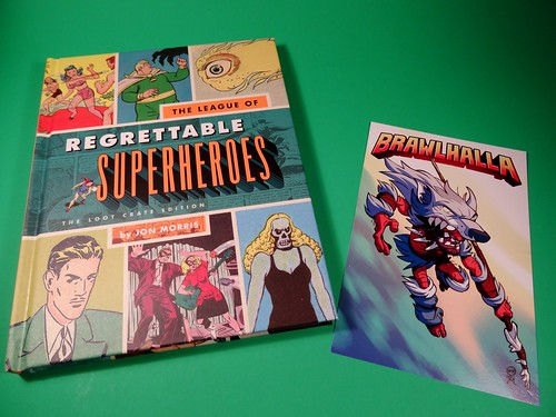 AEIOU   and Sometimes Why: July Loot Crate 2015 - Heroes 2