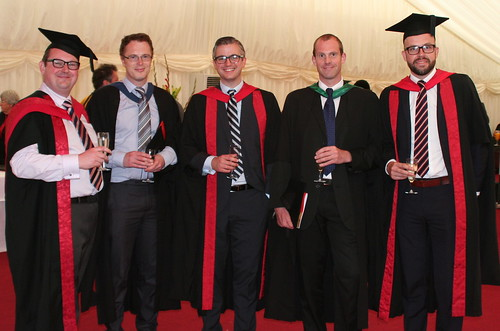 Left to right: Robert Sparey  Associate Head of Department (Geography and Planning), Nicholas Smith  Chris Sweet Senior Lecturer, Adam Sheppard Richard Price