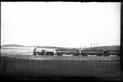Nantasket Beach Railroad Train c. 1900