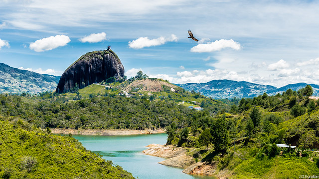 Freedom. Mountains of Antioquia, Colombia.