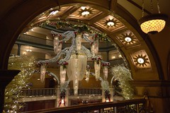 Brown Palace Hotel Holiday Chandelier