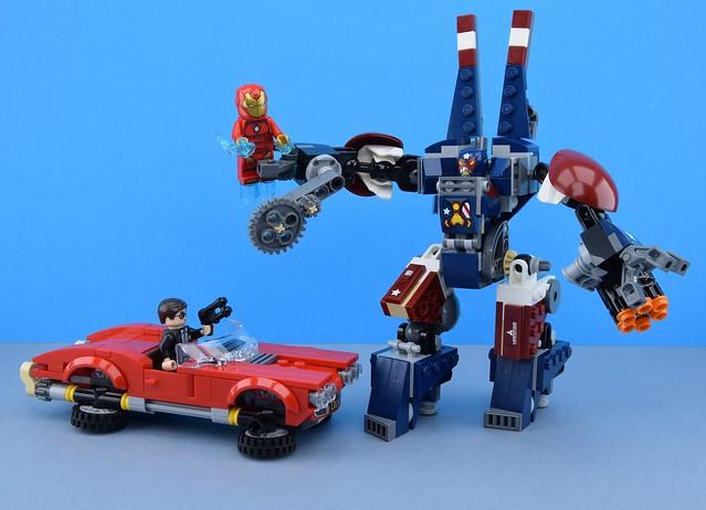 LEGO 76077 Iron Man : Detroit Steel Strikes