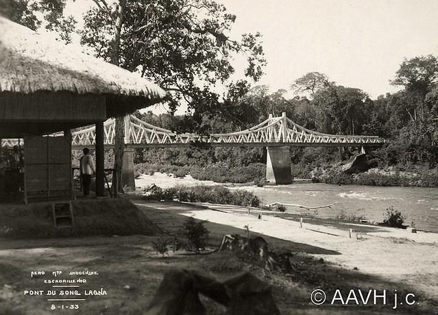 AP2134-Despierres Annam, 1933 – Pont sur la Lagna - Cầu trên QL20 qua sông La Ngà