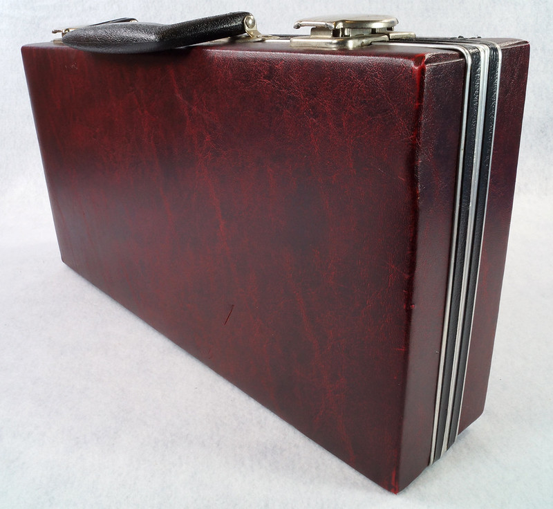 RD12878 Vintage Savoy 24 Cassette Tape Case Haverhill, MA with Bonus Tapes DSC08099