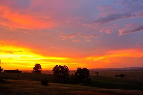 aus australia newsouthwales woodville sunset nikond700