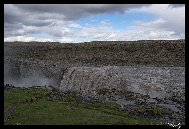 Fotografías de cascada Dettifoss desde carretera F862