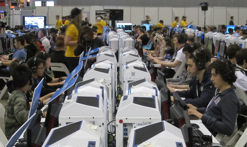 Computers at PAX 2014