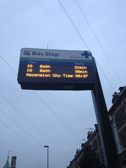 Live bus times
