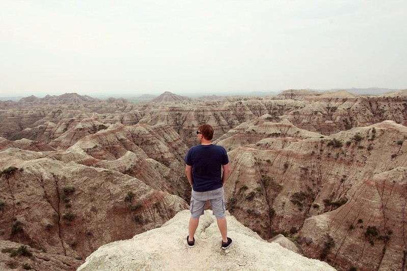 Iiro at Badlands National Park, South Dakota