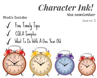 Character Ink Newsletter no. 5