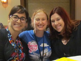 Nichole and Callie from Vegan Warrior Princess Attack