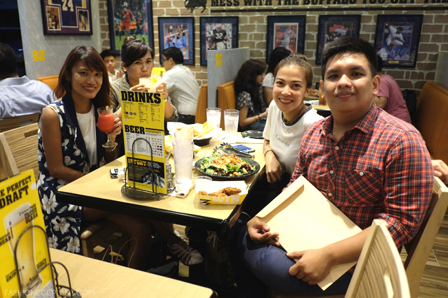 BUFFALO WILD WINGS GLORIETTA OPENING