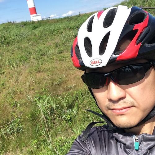 石狩浜まで自転車
