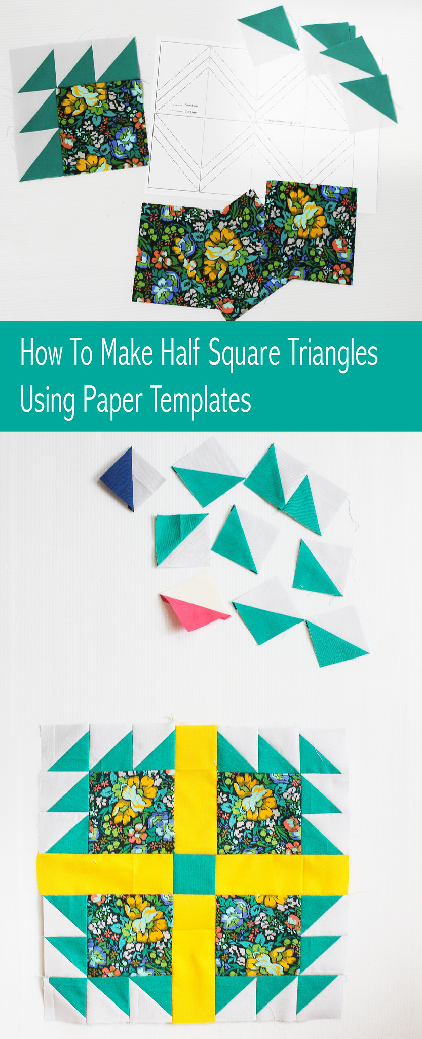 How to make HST using paper template