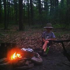 Campfire #snoopy #camping #fire #poconos #pa #Pennsylvania #picoftheday