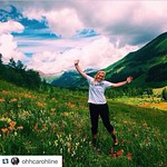 @ohhcarohline channeling her Julie Andrews in the hills of Colorado! #TulaneSummer #Tulane