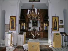 intérieur de la chapelle st nicolas nice