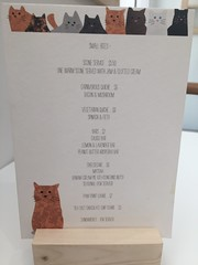 KitTea's menu