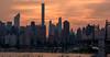 Manhattanhenge 2015 - Slightly cloudy by Globalviewfinder