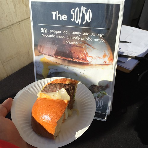 Slater's 50/50 at LA Weekly's Burgers and Beer