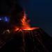 Volcanic Lightning - Colima Volcano, México por Christian Villicaña (Fotografía)