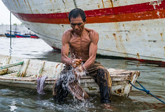 Sunda Kelapa Fisherman