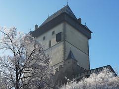 Karlštejn v zimním hávu