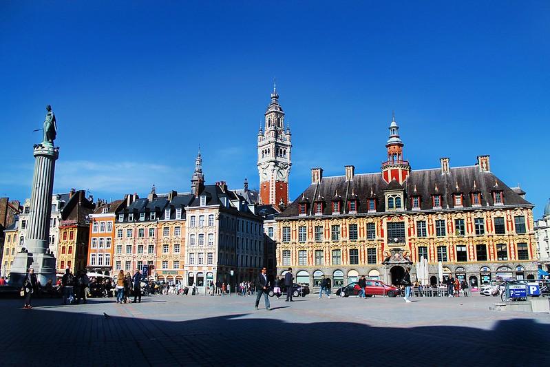 Drawing Dreaming - Guia de Visita de Lille - Grand Place