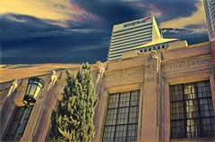 Los Angele California ~ The Los Angeles Public Library ~ Exterior Sculptures
