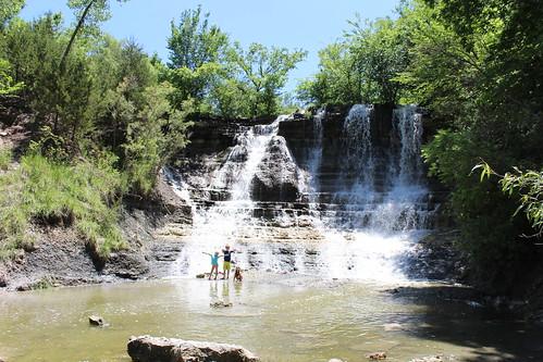 Geary Lake Waterfall