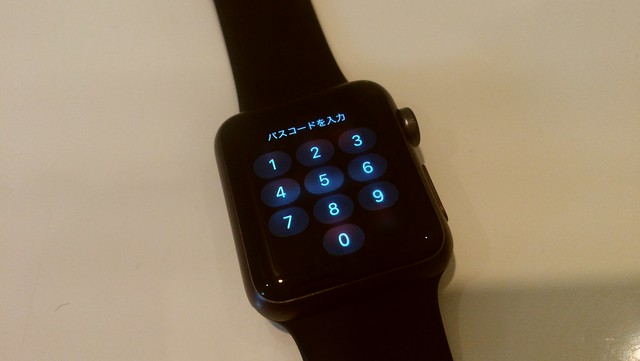Apple Watchの10キーはかなりダサい
