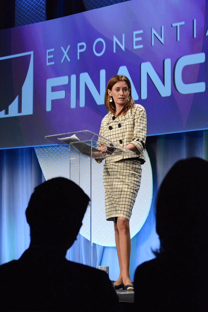 Blockchain: The Financial Challenge of Our Time, Blythe Masters, CEO Digital Asset Holdings...Exponential Finance 2015 hosted by Singularity University