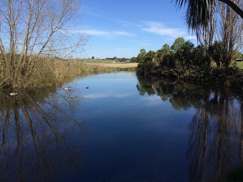 new creek zealand walkway timaru saltwater