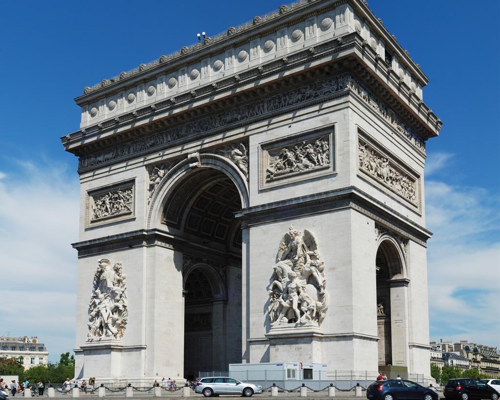 本物のフランスエトワール凱旋門