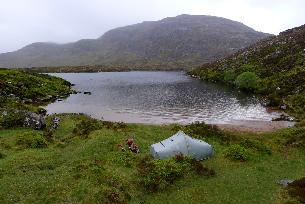 Wild camp below Maol Chean-dearg
