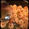 #linguine #shrimp #aglioeOlio #homemade #CucinaDelloZio - 1c #wine #PinotGrigio