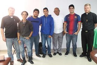 Carlos Schumann, Bryan Noguera, Obed Coronado, Argenis Rivas, Abel Garcia, Carlos Loturco and Sergio Fritzler.