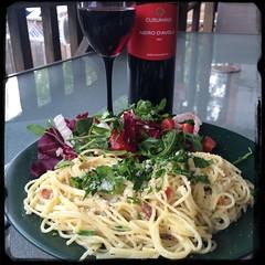 #Homemade Spaghetti alla #Carbonara #CucinaDelloZio -